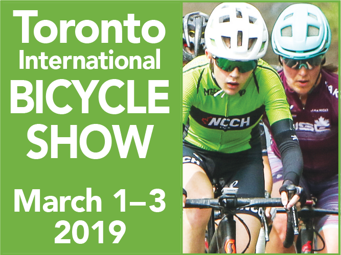 Bicycle Show square banner
