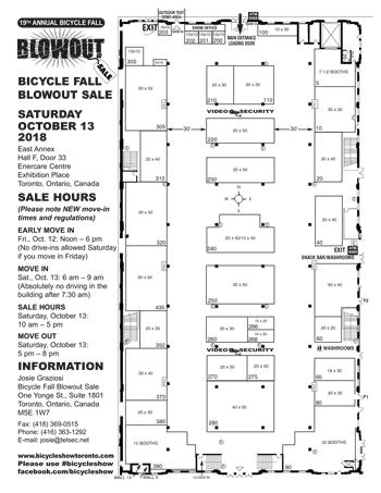 2018 Blowout Sale Floor Plan